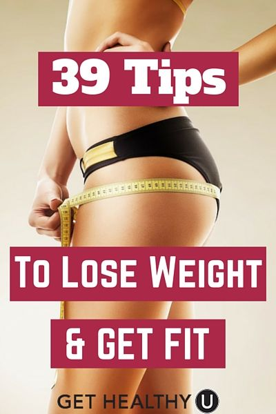 Download my free e-book with 39 Tips to Lose Weight and Get Fit! With the right habits, you can live your healthiest life.