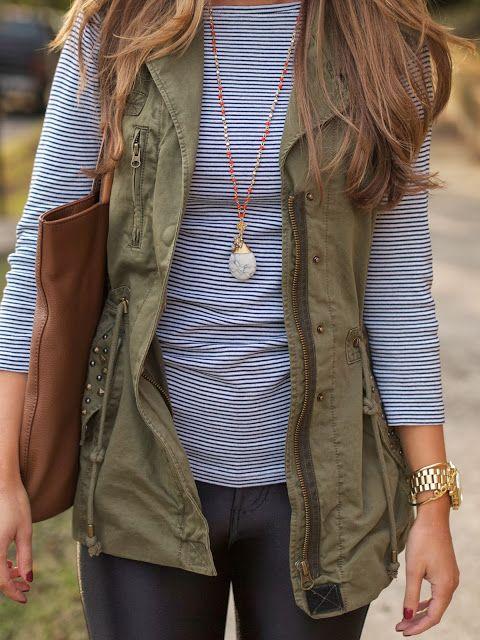 Love the vest...