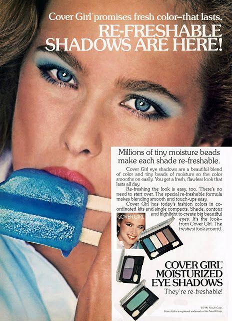 nancy deweir cover girl ad 1981 #vintage #ad #advertisement