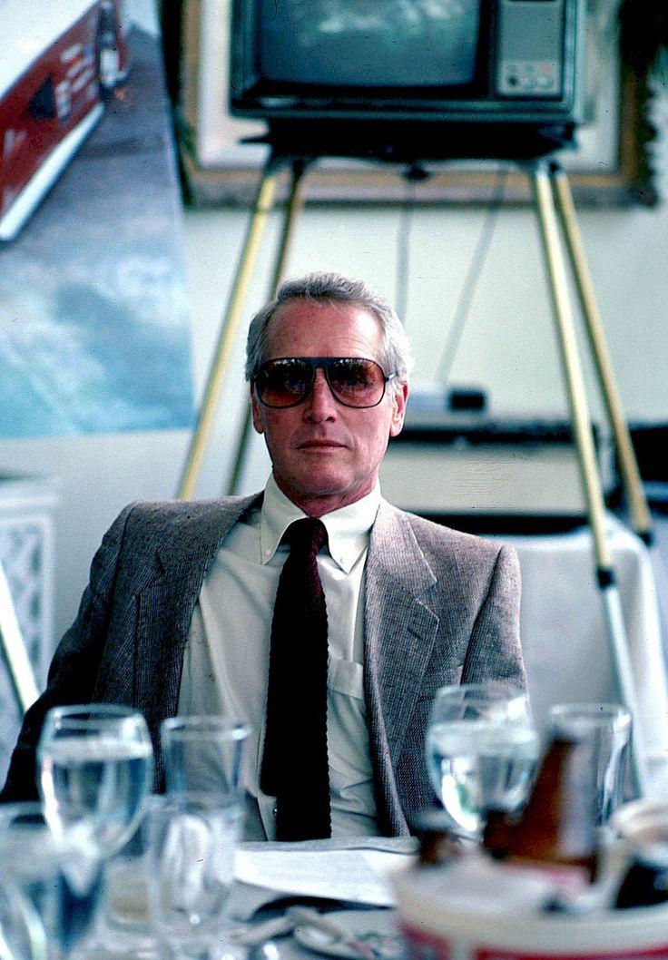 """mattybing1025: """"""""Paul Newman, 1982"""" """" gentlemanuniversee"""