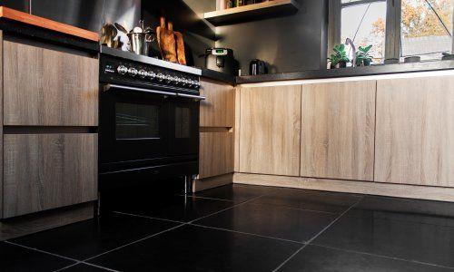 De ruimte voor de natuursteen vloeren | Nibo Stone
