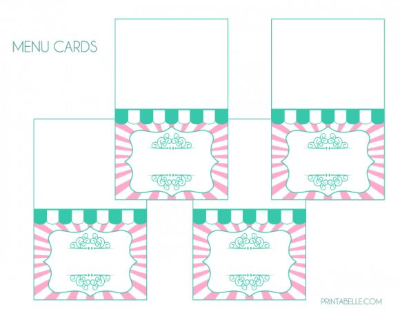 Free Unicorn Birthday Printables ~ Free printables from chickabug darling designs for every occasion
