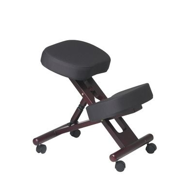 kneeling chair  better than regular chairs as it leads to