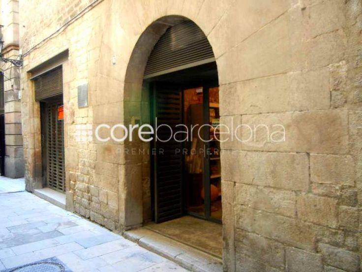 Local en alquiler en el barrio gótico de Barcelona.