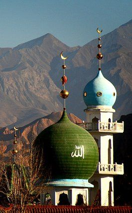 Xining Dongguan Great Mosque. Qinghai, China / By Gobdol