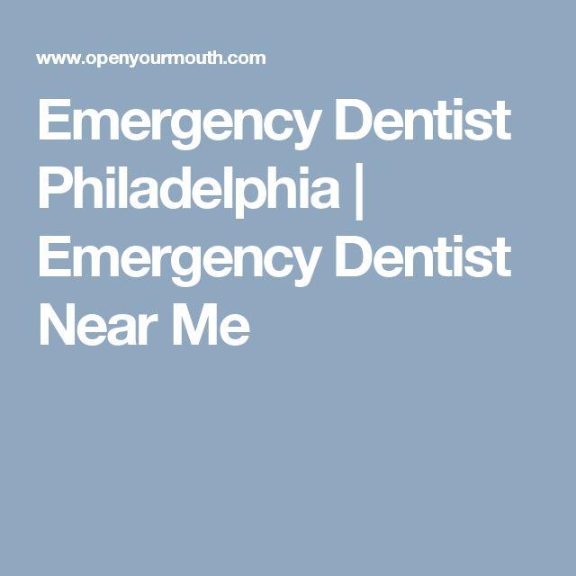 Emergency Dentist Philadelphia | Emergency Dentist Near Me