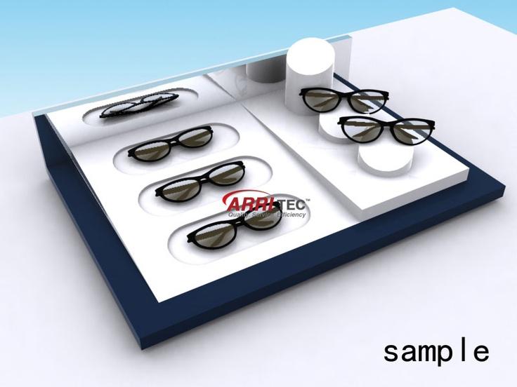 Countertop Eyeglass Frame Displays : eyewear displays #18320 Eyewear Display-Countertop ...
