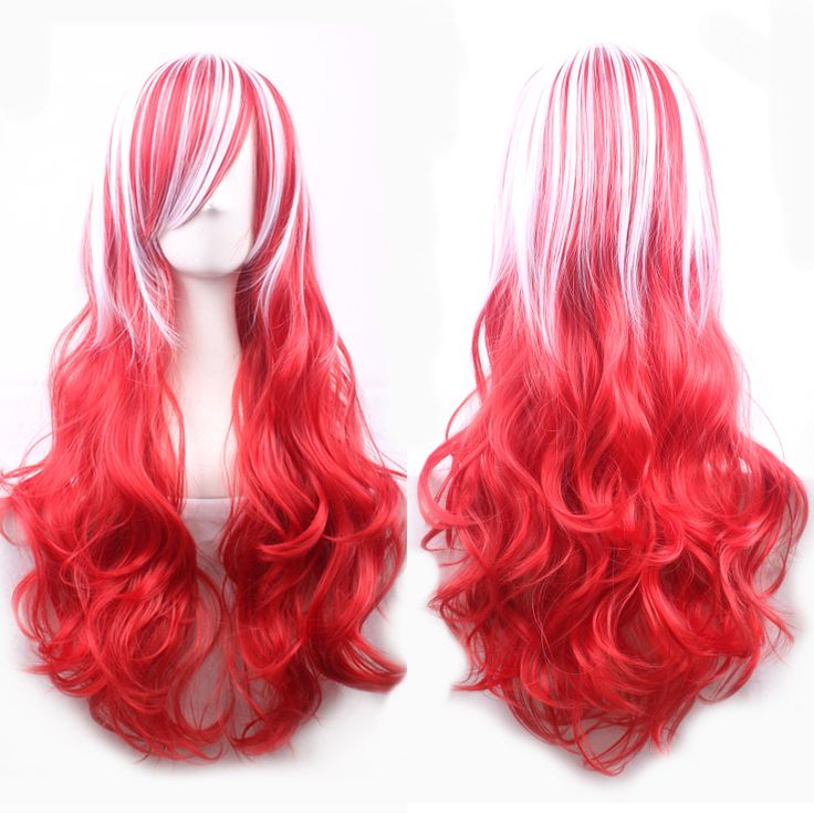 $6.00 (Buy here: https://alitems.com/g/1e8d114494ebda23ff8b16525dc3e8/?i=5&ulp=https%3A%2F%2Fwww.aliexpress.com%2Fitem%2F68cm-Fashion-Sexy-Long-Curly-Wavy-Cosplay-Wigs-For-Women-Wigs-Hair-Wig-Girl-Gift-Red%2F32642468474.html ) 68cm Fashion Sexy Long Curly Wavy Cosplay Wigs For Women Wigs Hair Wig Girl Gift Red White HB88 for just $6.00