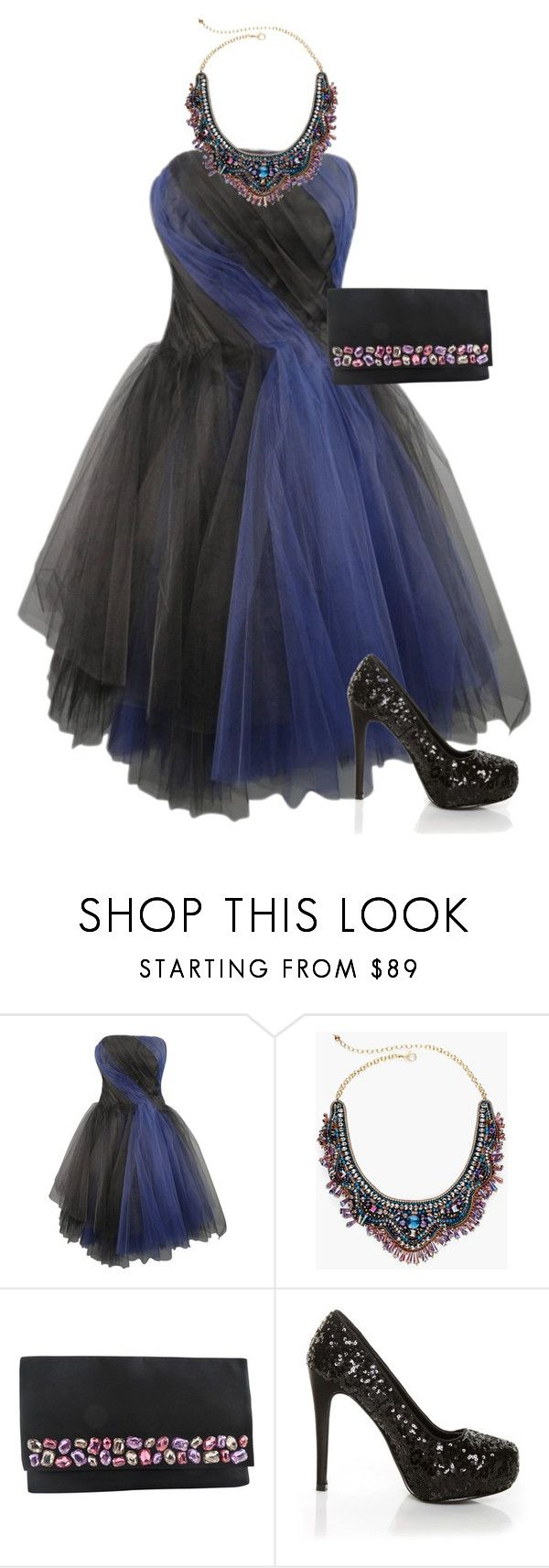 """""""Prom Perfect"""" by kayce35 ❤ liked on Polyvore featuring Oscar de la Renta, Chico's, Vera Wang and Shirò"""