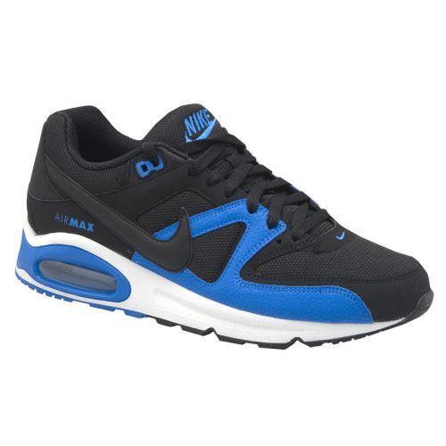 NIKE AIR MAX COMMAND black/blue De Nike Air Max Command is een sneaker voor heren met een stoer en sportief design.