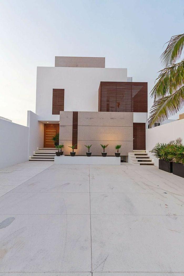 le minimalisme en architecture une jolie maison blanche élégante