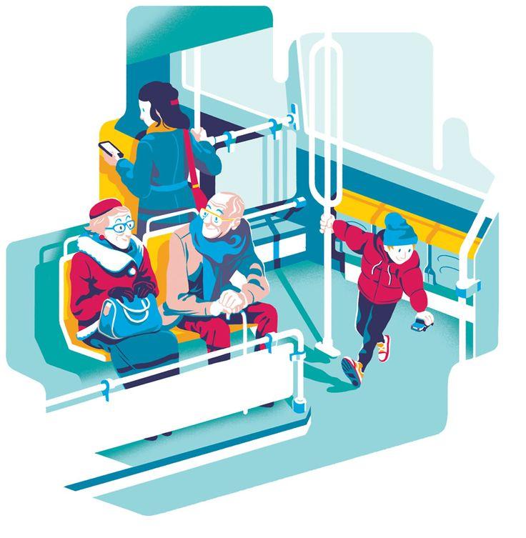 Folio illustration agency, London, UK | Bruno Mangyoku - Graphic ∙ Digital ∙ Character ∙ Iconography ∙ Contemporary ∙ Colour ∙ Advertising ∙ Editorial - Illustrator