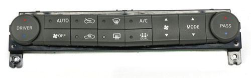 Nissan Maxima 2004-2006 OEM Temperature AC Heat Controls Part Number 27500-7Y010