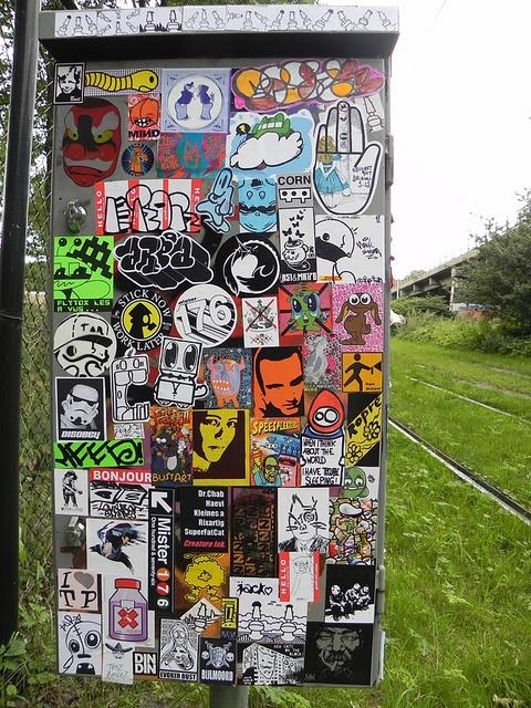 Stickercombo by wojofoto via flickr sticker street arturban