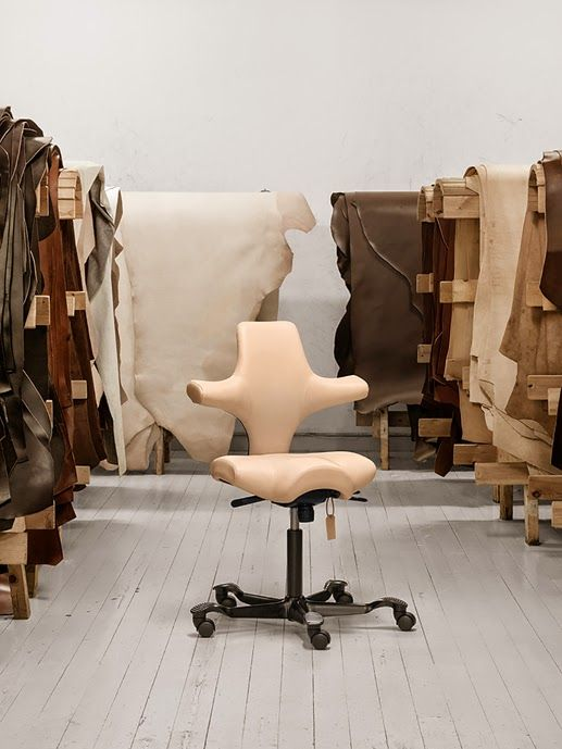 HAG capisco chair via HEIMELIG blog
