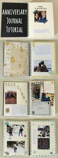journal for someones anniversary •°•✧ Pinterest - @ Tanyacrumlishx•°•✧
