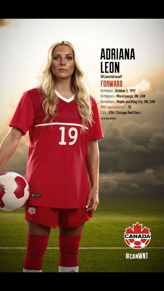 #CanWNT | #FIFAWWC | #CanadaRED | Adriana Leon |