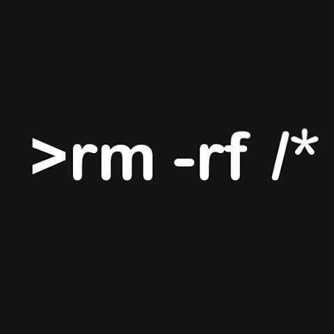> type your command > cd life > rm -rf / ... ----------------- #developer #programmer #bash  #linux #python #ruby #javascript #js #java #nodejs #rubyonrails #cpp #django #css #html  #expressjs  #kali #ubuntu