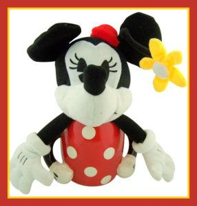 Minnie Mouse, Ceramic Coffee Mug, Plus Collectors Gift 12″ Plush Toy.