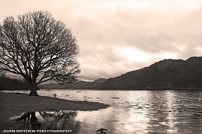 Bassenthwaite Lake in the Lake District National Park, Cumbria, England