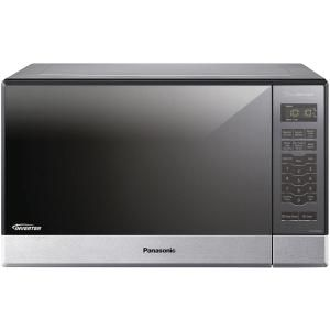 Panasonic 1.2 cu. ft. Countertop Microwave in Stainless Steel Built-In Capable with Sensor Cooking and Inverter Technology NN-SN686S at The Home Depot - Mobile
