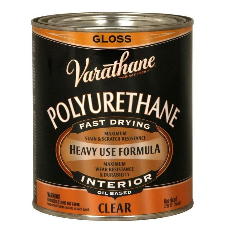Varathane 1 qt. Clear Gloss OilBased Interior