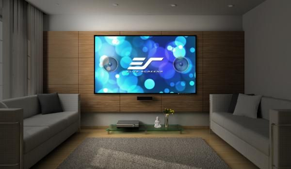 Elite Screens Has Introduced An Acoustically Transparent Fixed