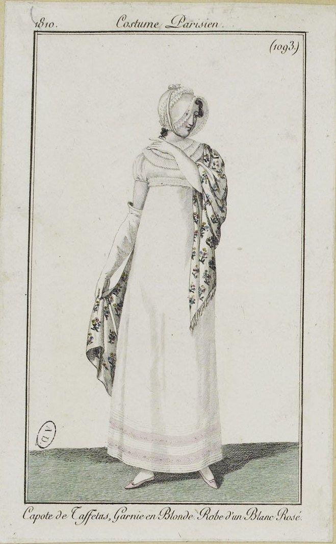 Costume Parisien (1093), 1810.
