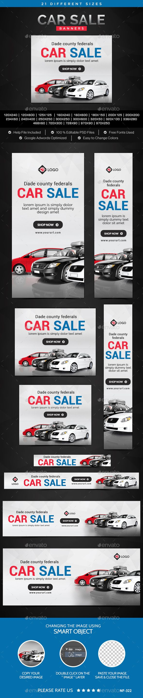 Car Sale Banners Template 85 best car