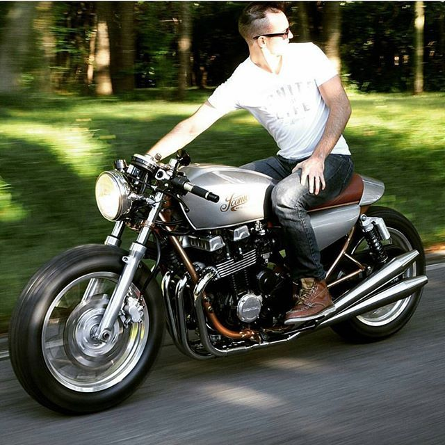 Honda CB750 Cafe Racer Tag a friend who would ride this! 〰〰〰〰〰〰〰〰〰〰〰〰〰〰 FOLLOW @kobenhavnprojekt for more! - PHOTO by @iconic.moto - #hondacb750 #hondacaferacer #honda