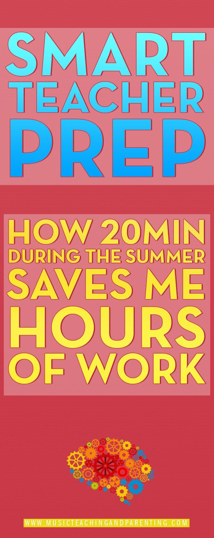 Smart Summer Planning For Teachers