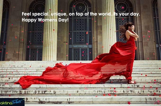 Διεθνής Ημέρα της Γυναίκας!! Η παγκόσμια ημέρα της γυναίκας έχει τις ρίζες της στις διαμαρτυρίες των γυναικών στις αρχές του εικοστού αιώνα στην Ευρώπη και τις ΗΠΑ, που ζητούσαν ίσα δικαιώματα,καλύτερες συνθήκες εργασίας καθώς και δικαίωμα ψήφου.Θεσμοθετήθηκε το 1977 από τον ΟΗΕ,ο οποίος κάλεσε όλες τις χώρες του κόσμου να γιορτάσουν την ημέρα για τα δικαιώματα των γυναικών.