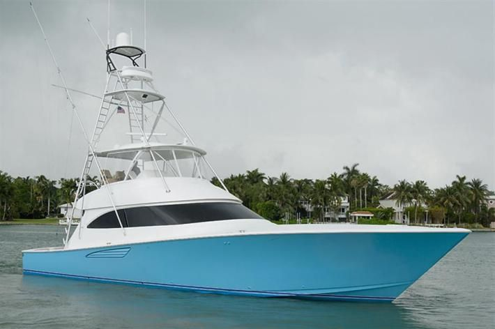 Featured Yacht For Sale : Crazy Blue - 2015 62' Viking Yachts Convertible - HMY Yachts