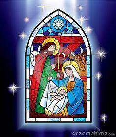 Vitral de la Navidad