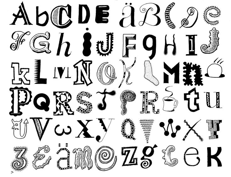 How to write cool letters on paper