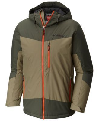Columbia Men's Wister Slope Insulated Jacket - Red Spark ...