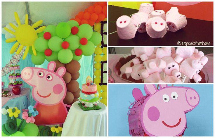 Peppa Pig a todo color para la fiesta de tu peque