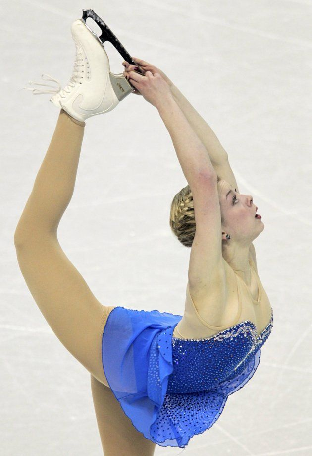 Gracie Gold of the U.S. performs during the ladies free ...Gracie Gold Dress
