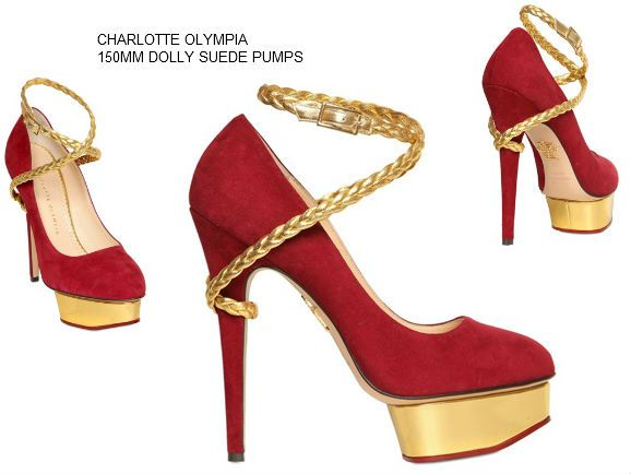 CHARLOTTE OLYMPIA 150MM DOLLY SUEDE PUMPS https://www.facebook.com/pages/Fashion-Trends-and-Discounts/137797606390386?ref=hl