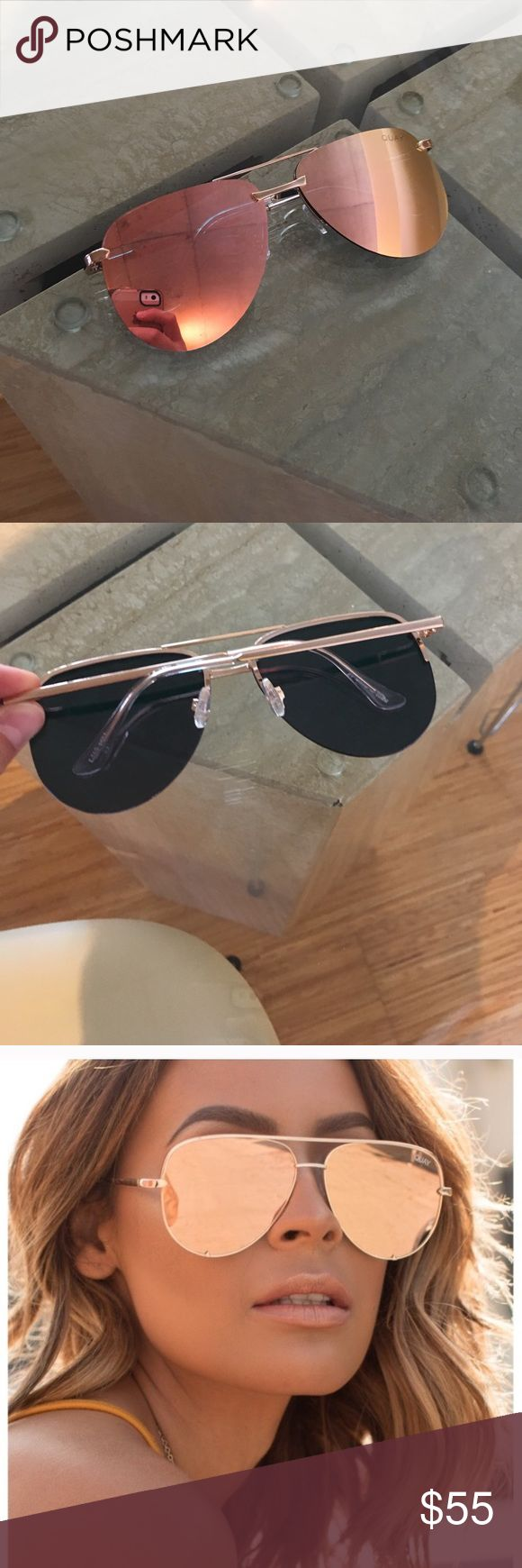 Quay Australia sunglasses Brand new and never worn. They are in excellent condition. Quay Australia Accessories Sunglasses