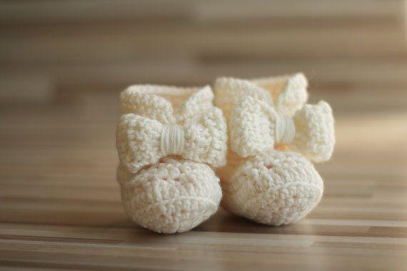 Crochet Baby Booties Boots