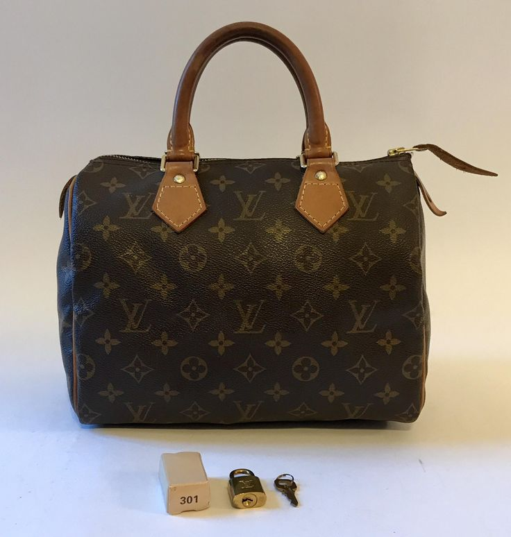 Louis Vuitton Monogram Canvas Speedy 25 Brown Satchel. Save 73% on the Louis Vuitton Monogram Canvas Speedy 25 Brown Satchel! This satchel is a top 10 member favorite on Tradesy. See how much you can save