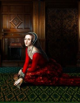 Anne Boleyn. Beautiful portrait. My favorite of her!