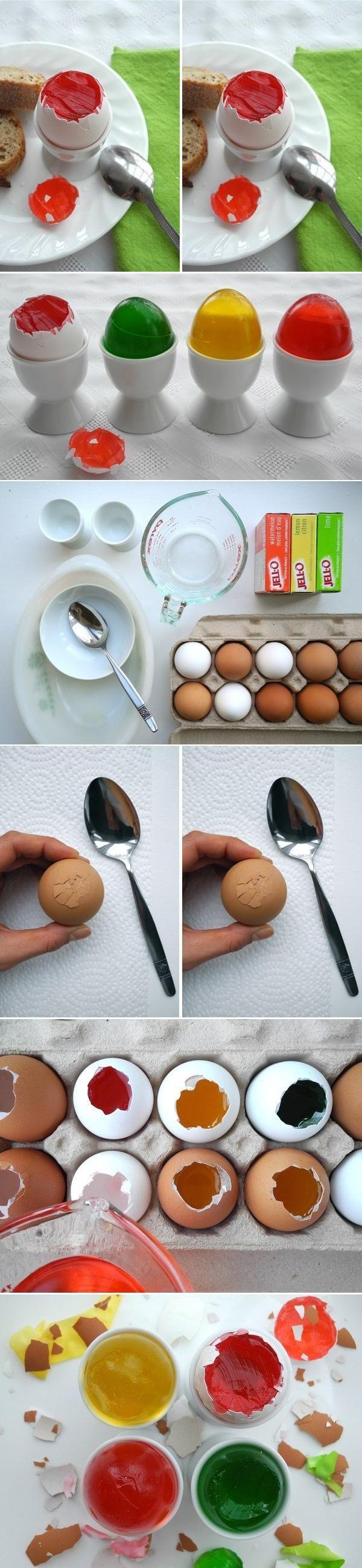 DIY Jello Gelatin Eggs DIY Projects | UsefulDIY.com Follow Us on Facebook ==> http://www.facebook.com/UsefulDiy