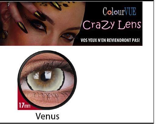 Lentilles DE Contact Couleur Lens 17 MM Venus 365J Déguisement Avec Étui | eBay