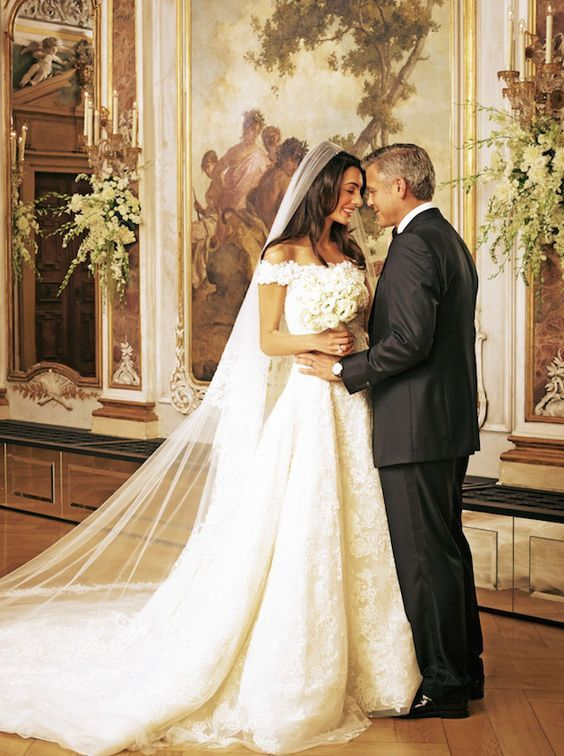 George Clooney and Amal Alamuddin's wedding in Venice, 2014