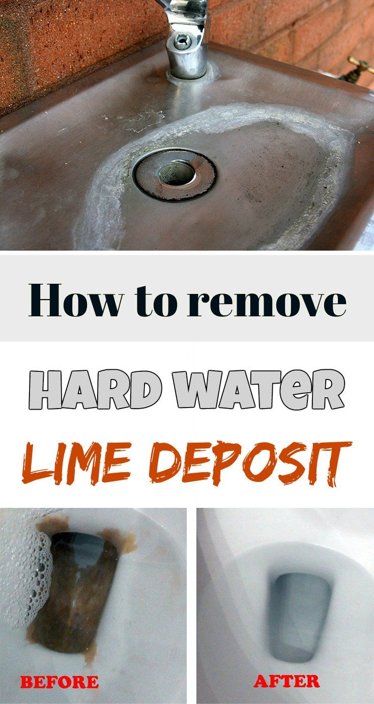 How to remove hard water lime deposit - Cleaning Tips