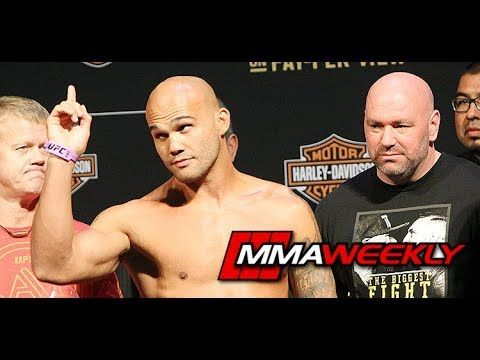 "MMA Robbie Lawler: ""It's Tought"" Not Having Matt Hughes Here  (UFC 214)"