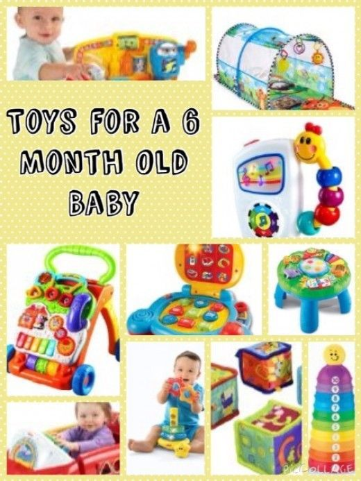 When My Son Was Six Months Old He Had Lots Of Toys However There