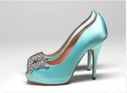 Tiffany blue high heels..I will be wearing tiffany blue heels on my wedding day:)